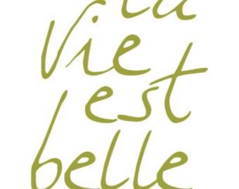 carococo / illustration by Carol-Anne Pedneault / la vie est belle 5x7