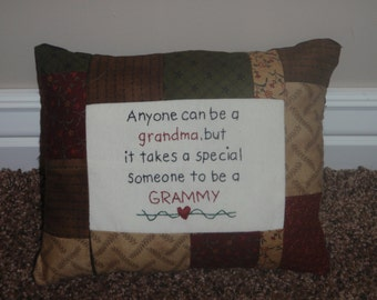 Grammy pillow