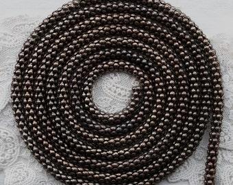 Classic Serpentine Snake Chain Brass 2 Feet