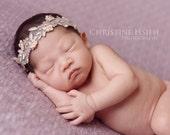 NEWBORN lavender embellished halo heaband photo prop rEaDy To ShIP