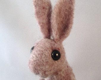 Needle Felted Bunny, Needle Felted Rabbit, Rabbit Art, Rabbit Felt, Rabbit Decor