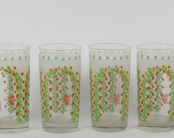 Adorable vintage garden glasses