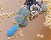 Spring Flowers Opera Length Necklace