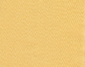 23 Vintage Precut Fabric Pieces - Solid Yellow Precut 5 Inches By 5 Inches Cotton Material - Vintage Inventory # 12 D