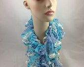 Starbella Knitted Ruffled Scarf