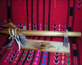 Native American Style Flute Key of F sharp m