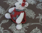 Ms. Kissy     Handmade darling teddy bear