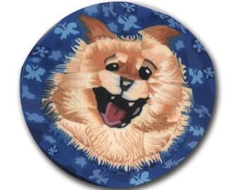Pomeranian Polymer Clay Cane Silly Milly