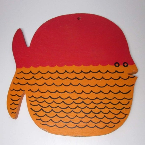Wooden Fish Wall Plaque or Cutting Board - Viking brand
