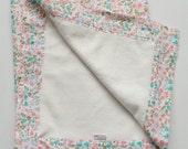 Organic Baby Blanket - Little Floral Print