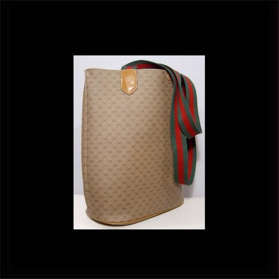 vintage 60er jahre gucci tasche handtasche authentisch. Black Bedroom Furniture Sets. Home Design Ideas