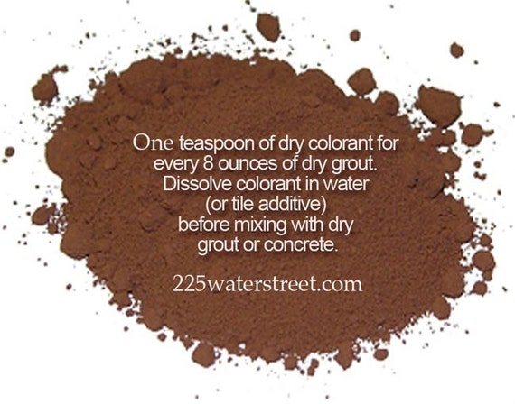 Brown Grout Colorant : Brown grout color pigment