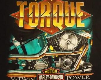 vintage tshirt HaRLEY DaVIDSON shirt V Twin Power XL Space Coast FL
