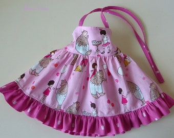 Doll 15 or 18 inch Sundress Featuring Sarah Jane's Let's Pretend Masquerade