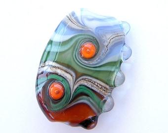 Handmade lampwork focal - glass bead / pendant