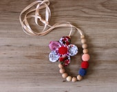 Multicolored Nursing Necklace / Teething necklace / Babywearing Necklace