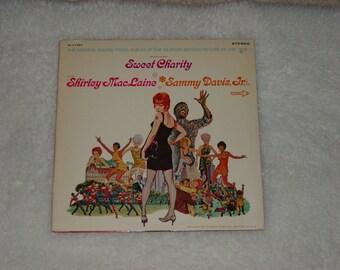 "Vintage Vinyl LP Record Album Musical Movie Soundtrack "" Sweet Charity "" Shirley MacLaine"
