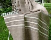 Hand Woven Merino Wool Blanket*