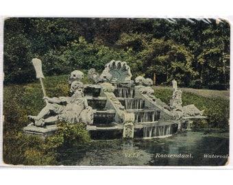 3 Vintage Postcards Holland - Waterfalls - Europe