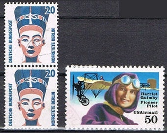 46  Postage Stamps - Women and Emancipation