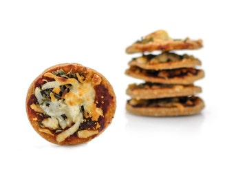 All Natural Parker's Pizza Dog Treats made with 7 cheeses