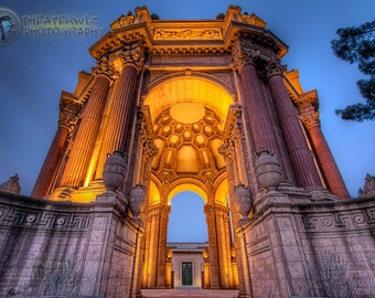 The Palace of Fine Arts, San Francisco Fine Art  Print