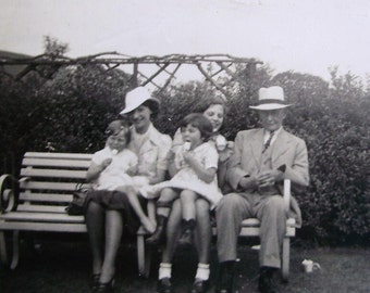 Vintage Photograph - A Summers Day Out