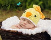 Baby Chick Hat / Easter Chick Hat / Newborn Chick Hat / Toddler Chick Hat