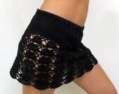 PATTERN Crochet mini skirt PDF beach skirt