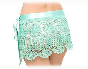 PATTERN Crochet beach skirt PDF