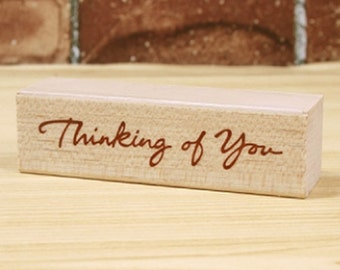 Thinking of You Stamp (2.8 x 0.8in)