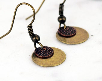 Minimalist Disc Everyday Grab and Go Earrings