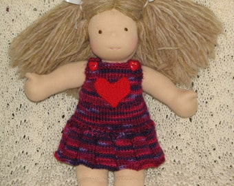 Doll Dress / Jumper / Skirtyall MADE TO ORDER for 8, 10, 12, 13, 14 ,15, 18 inch Doll
