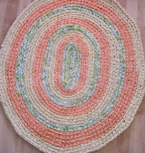 Crochet Pattern Oval Rug : CROCHET OVAL RUG VIDEO ? Only New Crochet Patterns