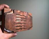 HUGE Vintage Wooden Letterpress Printer's Block - Set of 6 Knives