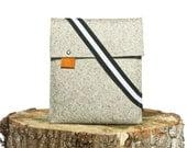 iPad Case - Sleeve Grey Wool Felt