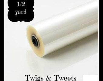 Ready To Ship- 1/2 yard crinkle material, crinkle paper, crinkle supplies, blanket size crinkle,  great for making baby toys