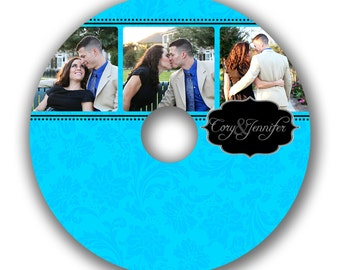 INSTANT DOWNLOAD -  Cd/DVD Label Photoshop template - 0529