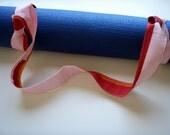 Yoga Mat Strap Rainbow Handmade