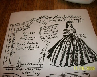 Geri Milano Gone with the Wind Scarlet Pattern