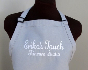 Customized Apron - Customize with Any Text - More Colors
