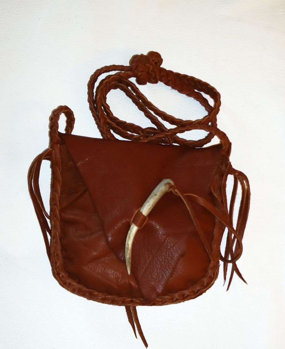 tobacco possibles bag mountain 2 compartments cross
