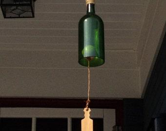 Wind Chime Wine Bottle