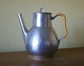 Vintage Just Andersen Pewter Teapot Pitcher - Danmark 2661