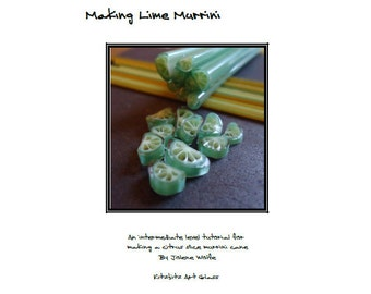 Making Lime Murrini pdf lampwork tutorial