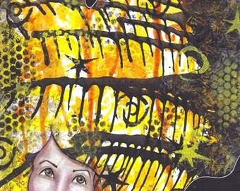 Soar - ORIGINAL painting by Natasha May