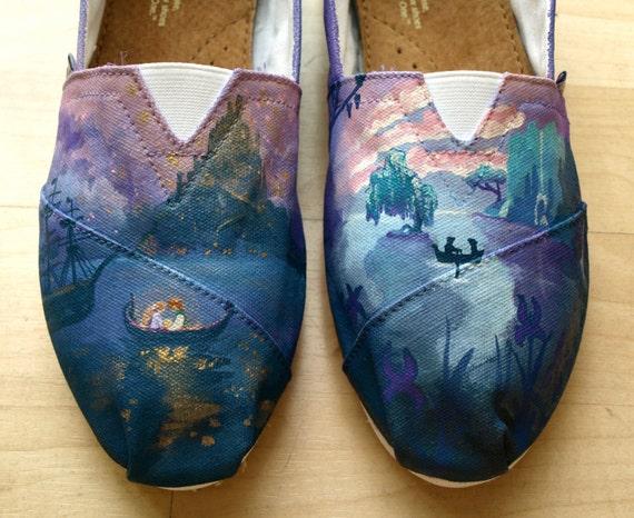 KOOAK Kustom order - Disney Boat Love Scenes Toms Flats