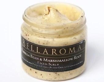Vanilla Bean and Marshmallow Root - FACIAL SCRUB