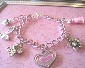 Little Girl Custom Charm Bracelet