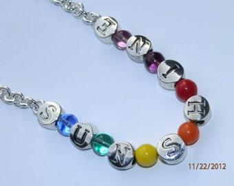 Rainbow Sunshine Necklace   368